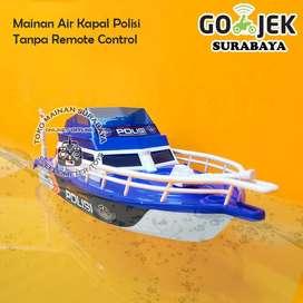 Mainan Air Kapal Speedboat Polisi | Mainan Edukasi Anak