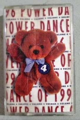 Kaset Power Dance Of 1996