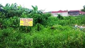 Dijual tanah ukuran 19X34 m