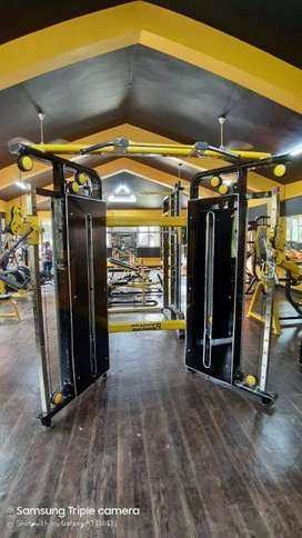 Imported look with heavy duty complete and new Gym Equipment Setup.