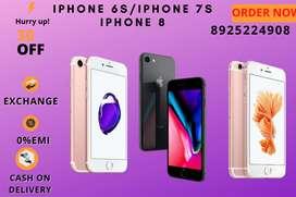 iphone 6s   iphone 7   iphone 8   32GB  64GB 128-COD