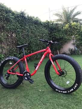 Scholl rhino cycle fat tyre bike