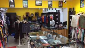Matchbox clothing store for sale