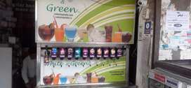 Soda machine 12 flavours