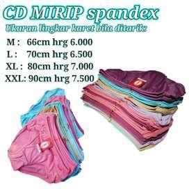 CD wanita Spandex murah