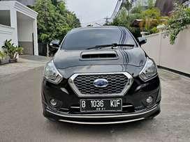 Datsun Go Plus 1.2 thn 2016 Hitam Manual km 30 rb Modifikasi Elegant