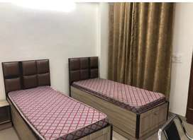 Girls pg in mohali two seater attach washroom best pg in mohali