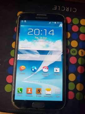 SAMSUNG GALAXY NOTE 2 GT-7100 Bill with box Full working condition