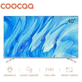 Android Smart Tv Led Wifi Full HD CooCaa 40S6G - 40 In / Inchi