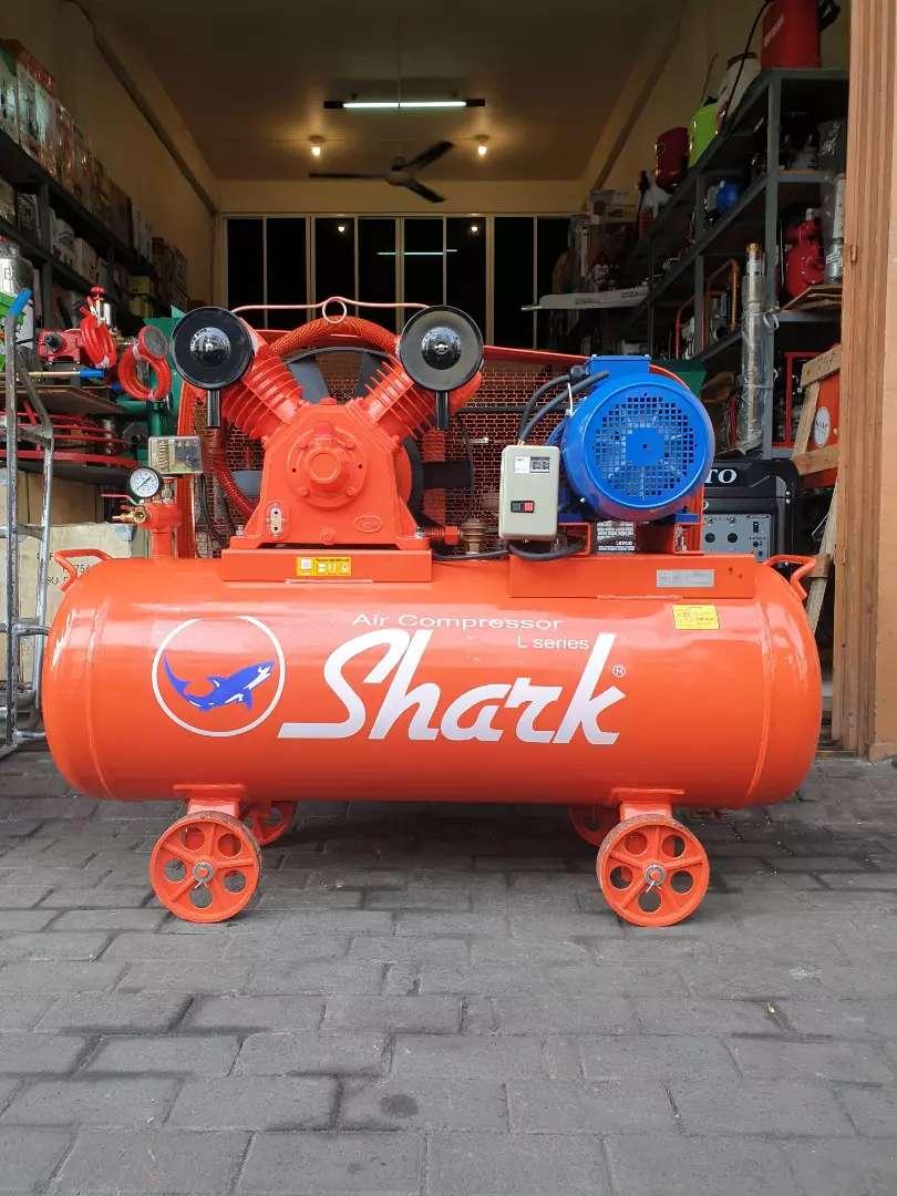 KOMPRESOR ANGIN SHARK COMPRESSOR AIR 7,5HP COMPLETE DINAMO 0
