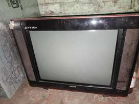 21 inch tv  flat  kit me kuch kharabi but  picture ok