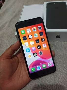 Iphone 7+ plus 128gb hitam ful murah tt barter vivo oppo iphone x xr