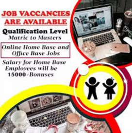 Online jobs available for Matric candidates