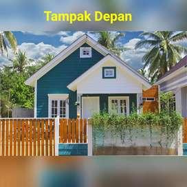 Rumah type 70/200 lokasi Ampera