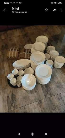 Bharat bone china Dinner set