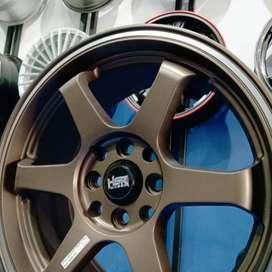 Velg Mobil TE37 R16 Lubang 4 Sangat Cocok Di Mobil Yaris Datsun Vios