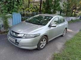 Silver Honda city