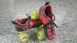 JJ Jonex Skates - quad skating shoes- for 6 to 8 years kids