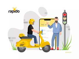 Wanted bike taxi captains for Rapido