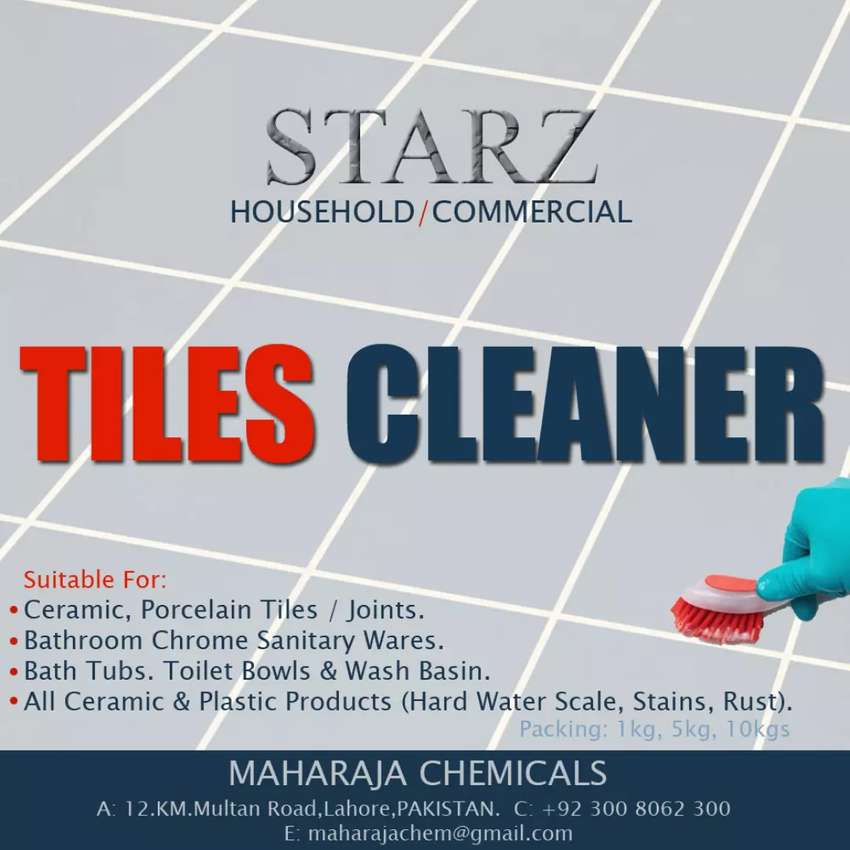 """""""TILES SCALE CLEANER"""""""