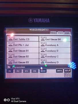 Style & song keyboard yamaha psr