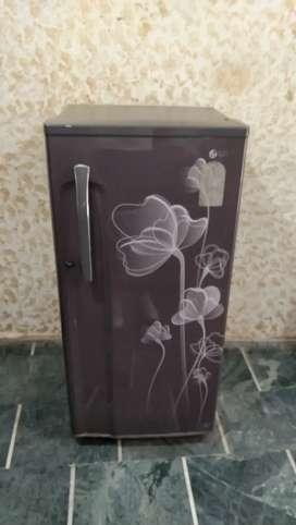 192 liter single door fridge in new condition