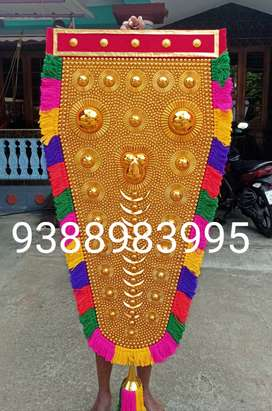 Handicraft Traditional Nettipattam  ആനപട്ടം 5feet 6800