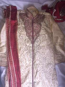 Grand wedding Kurta full set
