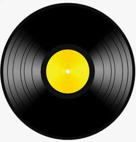 Antique vinly records