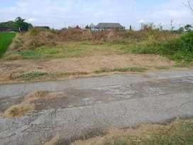 tanah kavling strategis,dua muka jalan.Hanya 200m dari pemda sukoharjo