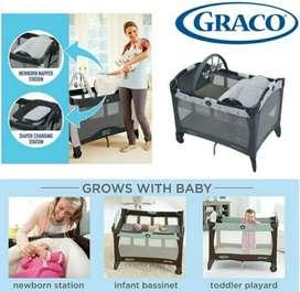 Graco pack n play playard napper changer baby box