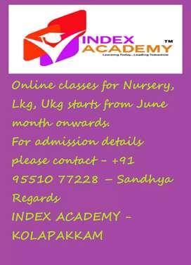 Index Academy, Kolapakkam, Chennai.