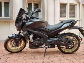 Dominar 400 Matte black 2018 version
