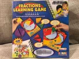 learning Fractions Permainan Edukasi Anak