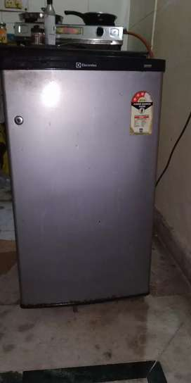 Combo 80L Refrigerator, ceiling fan, shoes Rack, And small white board