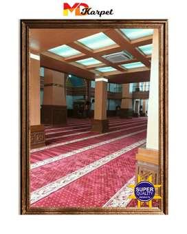 karpet masjid impor tipe super premium pasang Banjarnegara