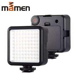 Mini Fill Light Portable Lampu Kamera Video 81 LED Beads 6000K