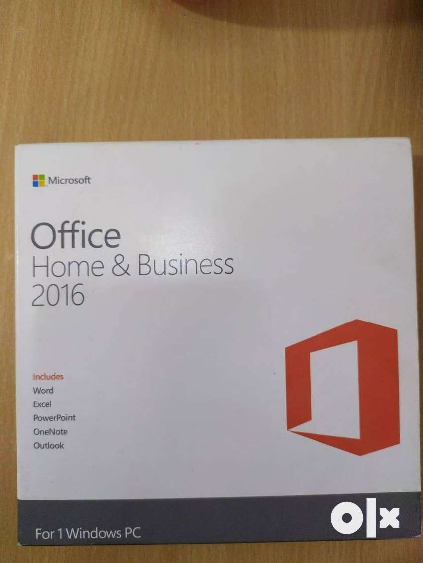 MS OFFICE 2016 ORIGINAL LIFETIME LICENSE( HOME AND BUSINESS)