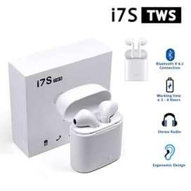 EARPHONE/HEADSET BLUETOOTH I7S TWS