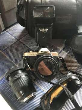 Kamera jadul vintage nixon fm 10