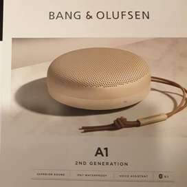 Speaker Bluetooth Bang Olufsen Beoplay A1 2nd gen BNOB Gold Tone LE
