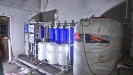 Mineral Water plant.
