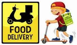 Vacancy for food delivery boy // biker and cyclist //only goa city