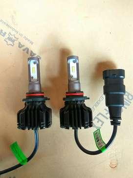 Lampu LED Foglamp Kabut H3 H11 HB3 HB4 CSP Y18 25watt 8000LM 6000K
