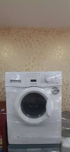 Front loading washing machine with 6 month warranty