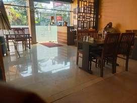 Family Restaurant High End AC Fine Dine 60 Seater Capacity