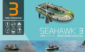 Intex Seahawk 3 Inflatable Boat  3 Person Series