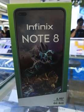 Infinix Note 8 6/64 Baru Garansi Resmi
