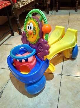Ride on/mainan anak/mobil dorong ada musiknya