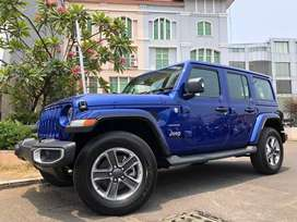 Jeep Wrangler 2.0 Sahara 2019 New Model Vivid Blue Ready The One&Only